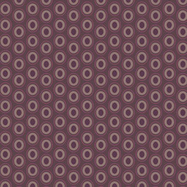 Oval Elements - Pure Brown - Baumwolle