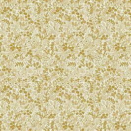 Rifle Paper Co - Gold/Metallic - Baumwolle