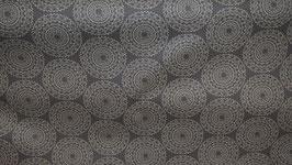 Mandala - hellgrau - Beschichtete Baumwolle H177