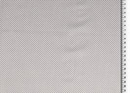 Popeline Baumwolle - Punkte basic - Grau