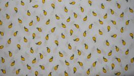 Popeline Baumwolle - Lemon Q262