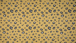 Organic French Terry - Panther Dusty Yellow