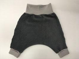 Pumphose -  Cord grau