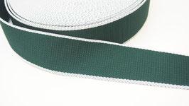 Gurtband grün weiß VX119