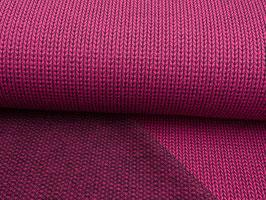 Elastischer Jacquard Bio-Albstoffe Pink