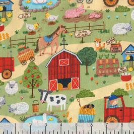 Down on the farm - Patt - Baumwolle