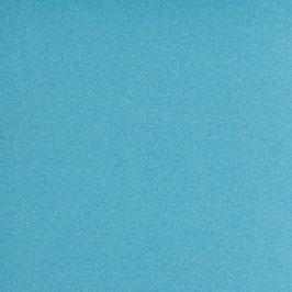 Bündchenware - Turquoise Melange