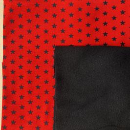 Stoffpaket Jersey -   Gemustert Jersey, Bündchen (Sterne)