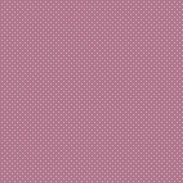 Popeline Baumwolle - Punkte basic Mauve