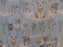 Pretty Forest Animals - Baumwolle