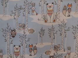 Pretty Forest Animals - Baumwolle