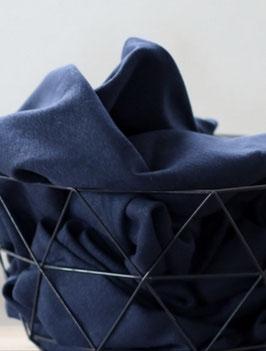 Cotton Flame - Interlock by Mind the MAKER - INDIGO BLUE