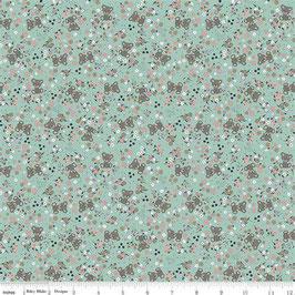 Mint Sleep Tight Garden Metallic - Baumwolle