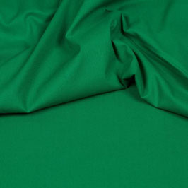 Uni Baumwolle - Grün
