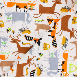 Emberly Favorites - Forest Friends - Baumwolle