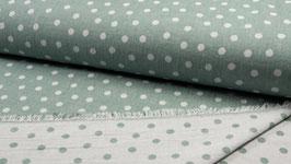 Jaquard Doubleface - Dots Dusty