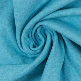 Bündchenware - Turquoise Melange SW 143