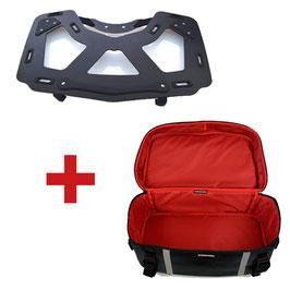 Paquet de porte baggage pour Topcase BMW K1600GT/R1200RT LC + Sac