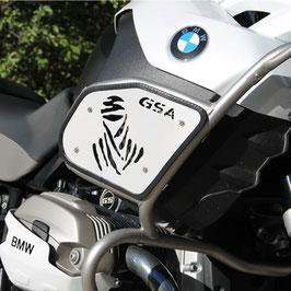 Plaque pour protection du réservoir BMW R1200 GS Adventure