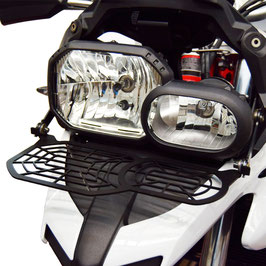 Grille de protection de phare rabattable  BMW F700GS