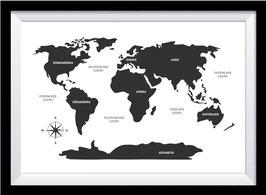 Die Welt und ihre Kontinente
