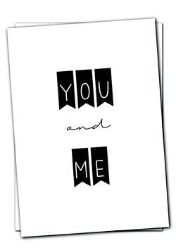 You and Me - Karte