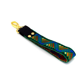 Bag wrist strap - for clutch - multicolor