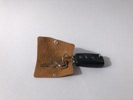 le flâneur veste - minimalistisches Schlüsseletui aus Leder
