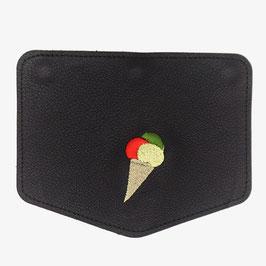 le flâneur Wechselklappe - ice cream / schwarz