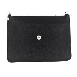 le flâneur Taschenkörper schwarz/ silber