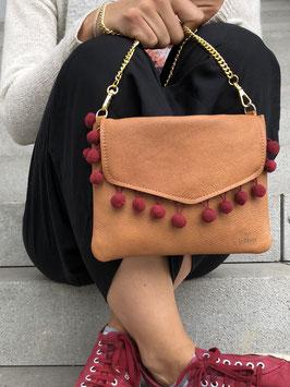 Red Sunset - le flâneur custom bag mit Wechselklappe