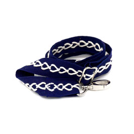 Bag shoulder strap blue marine