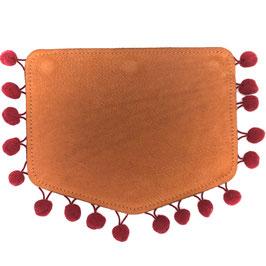 le flâneur Wechselklappe- dark red/ brown