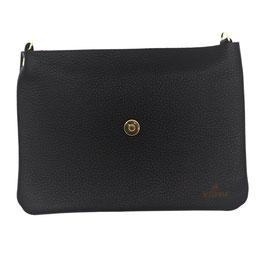 le flâneur Taschenkörper schwarz/ gold