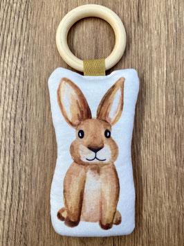 Knuffel bijtring 'konijn'