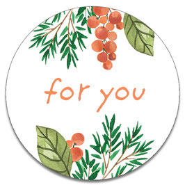 10 stickers 'for you'