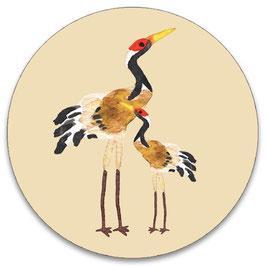10 stickers 'kraanvogels'