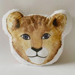 Kussen 'leeuwen welpje'