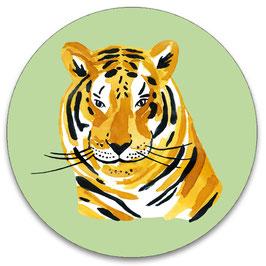 10 stickers 'tijger'