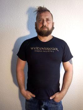 Shirt Weltenkrieger - Barden des Lichts (h. Logo, v. Schriftzug)
