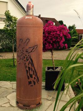 Feuertonne - Giraffe ohne Ascheklappe
