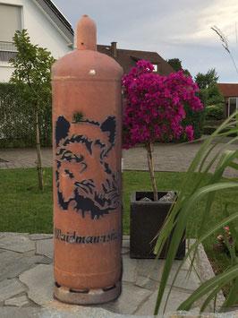 Feuertonne - Keiler inkl. Ascheklappe