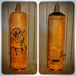Feuertonne - Dressurpferde inkl. Ascheklappe