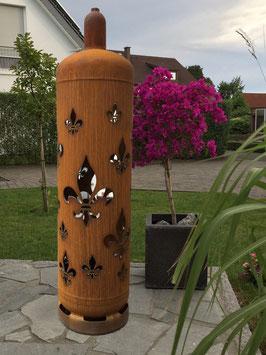 Feuertonne - Lilie umlaufend