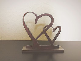 Dekofigur Herzen