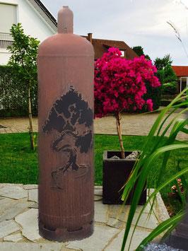 Feuertonne - Bonsai Baum