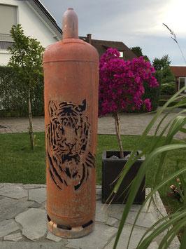 Feuertonne - Tiger ohne Ascheklappe