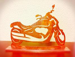 Motorrad Suzi Deko Figur