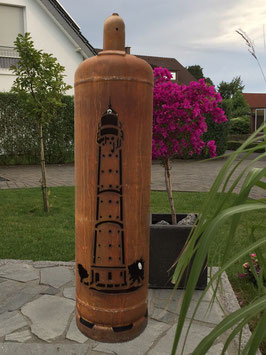 Feuertonne - Leuchtturm Pelle
