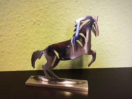 Deko Figur Mustang / gebürstet